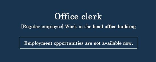 Office clerk