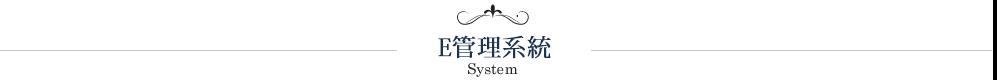 E管理系統